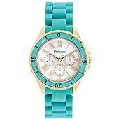 Style Watch, Women's Blue Plastic Bracelet 33mm SC1376