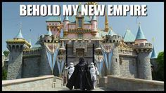 I'll bet the Storm troopers well like it here a lot better than on the death star!