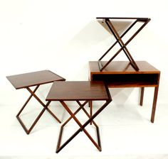 SALE Rosewood Illum Wikkelso Danish Folding by TheModernHistoric