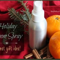 Homemade Holiday Air Freshener Spray – Page 4 : This homemade air freshener is a room spray that is perfect for the holidays. The festive scent is easy to make, natural, and makes for a great gift. Cinnamon Essential Oil, Lemon Essential Oils, Essential Oil Uses, Vodka, Homemade Air Freshener, Room Freshener, Sweet Orange Essential Oil, Home Scents, Natural Cleaning Products