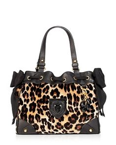 Juicy Couture - Leopard Daydreamer Handbag - if I could pull off the leopard print trend, it would be with this.