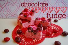 Chocolate Cherry Fudge | The Domestic Rebel