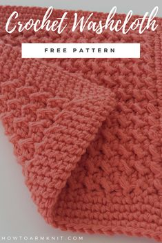 How to Make a Textured Crochet Washcloth {FREE PATTERN} Learn how to make crochet texture stitches with this free crochet washcloth pattern. Crochet Towel, Crochet Yarn, Crochet Stitch, Crochet Mandala, Crochet Gratis, Free Crochet, Amigurumi For Beginners, How To Crochet For Beginners, Learn To Crochet