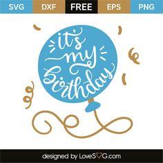 Free Svgs Birthday