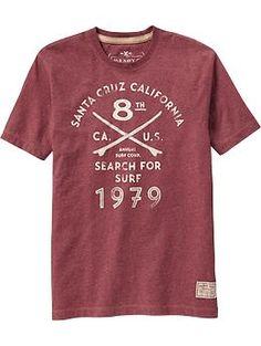 Men's Premium Applique-Graphic Tees | Old Navy