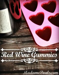 Red Wine Gummies Recipe