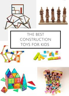 Best Construction and Building Toys for Kids: Holiday Gift Guide 2015 Best Baby Toys, Best Kids Toys, Kids Toys For Boys, Gifts For Kids, Educational Toys For Toddlers, Activities For Kids, Building Games For Kids, Toddler Toys, Cool Toys