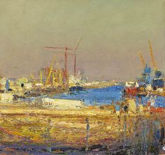 ANDREW GIFFORD - The Tyne at Wallsend