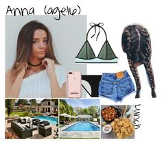 """Anna // 9-16-17 // Swimming + Filming Hailey's YouTube Video ✨💚"" by dream-familiess ❤ liked on Polyvore featuring Xhilaration, Victoria's Secret and TheTristenFamily"