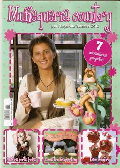 Album Archive - Muñequeria Country No. Book Crafts, Hobbies And Crafts, Felt Crafts, Crafts To Make, Craft Books, Stuffed Animal Patterns, Diy Stuffed Animals, Sewing Magazines, How To Make Purses