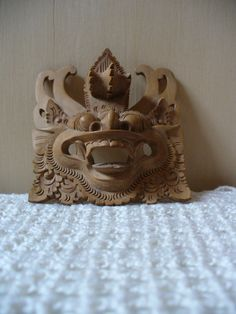 Barong- lion god mask- Bali- Indonesia