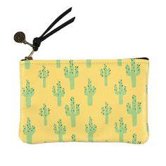 Cactus Mini Pouch Yellow