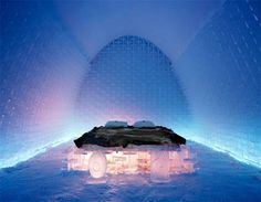 Read our post on the top 10 #ice #hotels from around the world! This one is #Jukkasjärvi in #Sweden