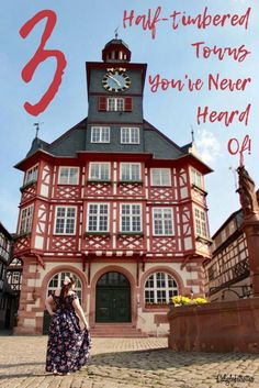 3 CHARMING Half-Timbered Towns You've Never Heard Of! – California Globetrotter