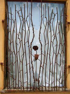 Look: Vines N' Roses Window Bars