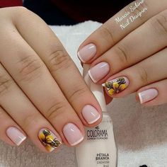 100 Trendy Stunning Manicure Ideas For Short Acrylic Nails Design Acrylic Nail Designs, Nail Art Designs, Acrylic Nails, Cute Nails, Pretty Nails, Hair And Nails, My Nails, Nail Designer, Nagel Gel