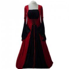 http://www.d-gotico.com/vestidos-de-novia/255-vestido-medieval-red-black.html