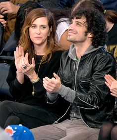 Are Kristen Wiig And Fabrizio Moretti Back On, Or Just The Friendliest Exes, Ever? #refinery29