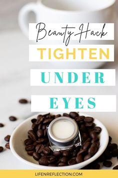 10,000 women have used this beauty hack to tighten under eyes because it works! Clean Beauty, Diy Beauty, Beauty Hacks, Reduce Under Eye Bags, Puffy Eyes, Beauty Recipe, Eye Cream, Skin Care Tips, Food