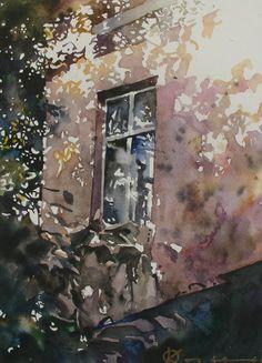 Oleg KOZAK watercolor: WATERCOLOR 5