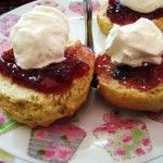 Receta de scones, panecillos escoceses | Scottish Scones recipe.
