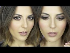 Makeup Tutorial: All Matte Natural Smokey Eye; has hints of plum for a lovely fall look.