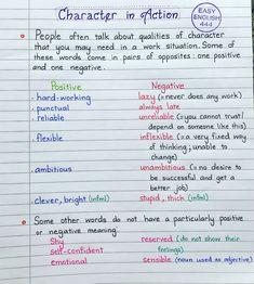 English Grammar Notes, Teaching English Grammar, Grammar And Vocabulary, English Idioms, English Vocabulary Words, Grammar Lessons, Learn English Words, English Literature, English Study