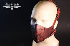 CYBERPUNK MASK leather hand made steampunk mask by SteampunkMasks