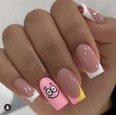 Baby Girl Nails, Girls Nails, Pink Nails, Nail Swag, 6 Tag, Nail Photos, Nail Tutorials, Short Nails, Nail Artist