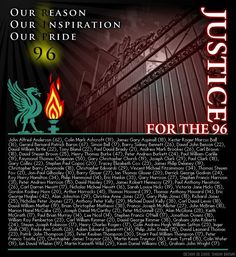 Justice for the 96 <3 - never forgotten - April 15th (24 years ago)