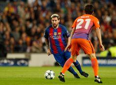 Lionel Messi en la acción