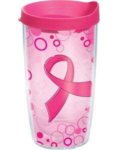 Pink Ribbon - Polka Dot Wrap with Lid $15.00 for my sissy