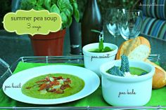 Pea soup is a delicious way to use up all those fresh peas from the garden. We have three simple recipes that will tantalize your taste buds!