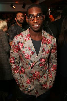 Tinie Tempah at The Men's Health x Liberty x YMC Party during London Collections: Men AW14 #LCM