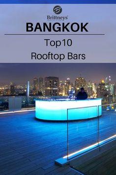 Der ultimative Bangkok Reisetipp. Erlebe die besten Rooftop Bars in Thailand mit großartigem Ausblick über die Stadt. #Reisetipp #Bangkok #Thailand