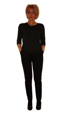 +42,+44+r++Spodnie++dresowe++czarne+.+++w+HeWoj+na+DaWanda.com