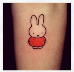 Image result for miffy tattoos