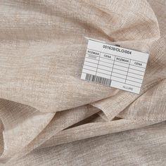 Tkanina a'la len z połyskiem 001638/004 / wysokość 300cm / kolor beżowy | Sklep internetowy Firantex Lens, Klance, Lentils