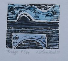 """Limited edition print. """"Bridge"""" My collection."""