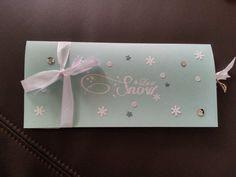 Gutscheinverpackung für Konzertkarten