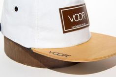 bc4ed71b9c0 Trucker - White Denim - Wood Brim Hat