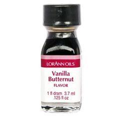 Vanilla Butternut Essens 3,75 ml   Slikkepott.no - Nettbutikken for bakeglede