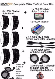 Solar Panel Kit for Duracell PowerPack 600: Build your own