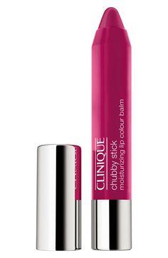 Have it & love it! Clinique 'Chubby Stick' Moisturizing Lip Color Balm   Nordstrom