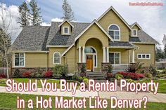 Should You Buy a Rental Property in a Hot Market Like Denver?  http://denverrealtyandrentals.com/should-you-buy-a-rental-property-in-a-hot-market-like-denver/