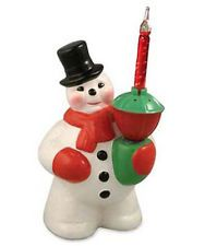 Bethany Lowe Christmas Snowman Retro Bubble Light Decor Vintage Style