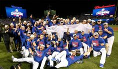 2016 World Series Champions, Chicago Cubs