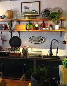 cozinha industrial chique