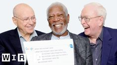 Morgan Freeman, Michael Caine, and Alan Arkin Answer the Most Searched Questions About Themselves