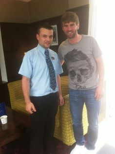We were delighted to welcome Celtic and Northern Ireland player Paddy Mc Court to the Hotel this week for a well deserved break!